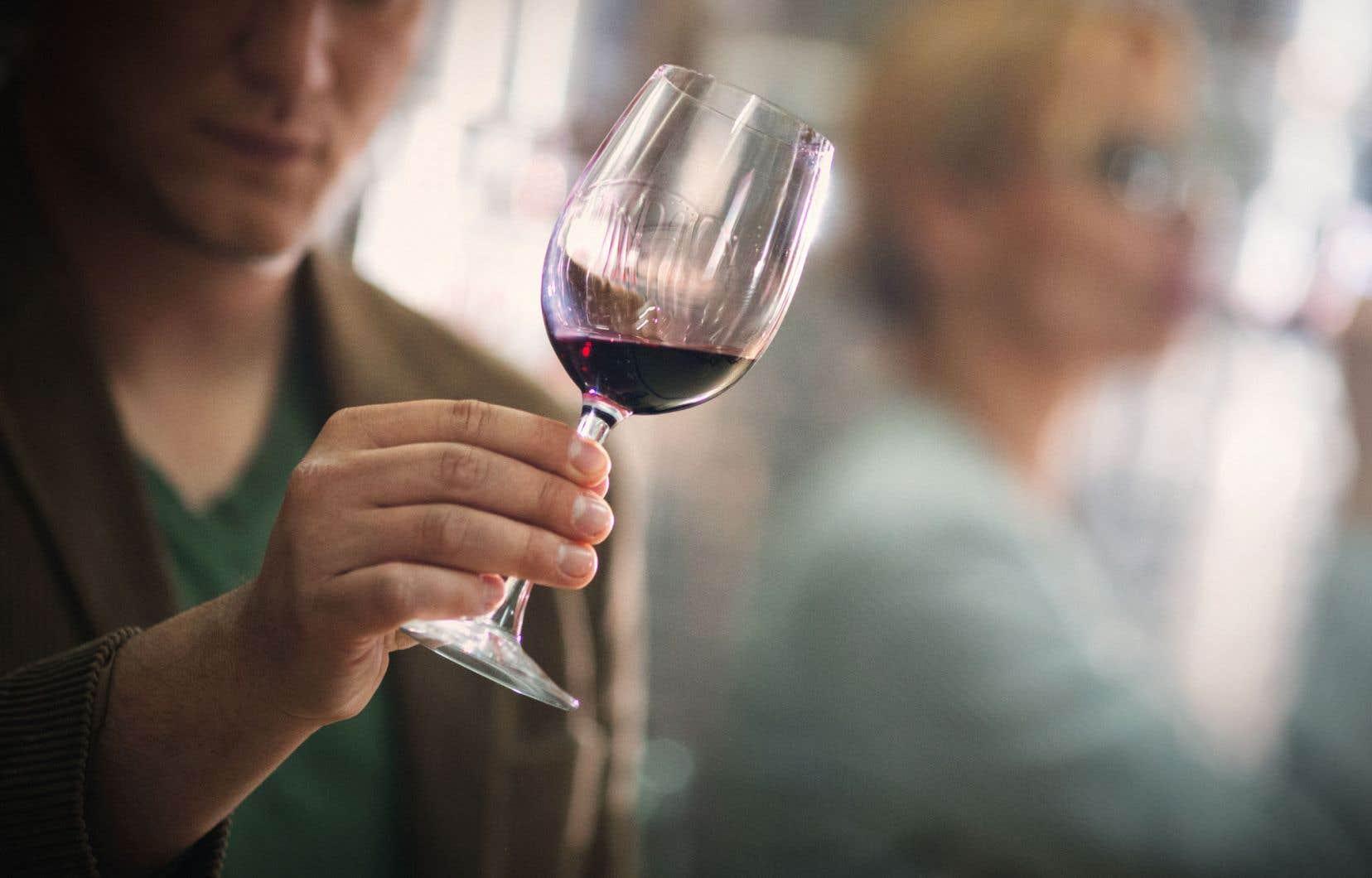 D'abord, respirez par le nez, pas de panique, c'est juste du vin.