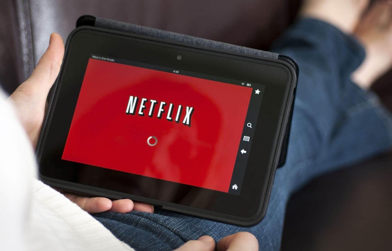 L'augmentation en novembre du forfait le plus populaire de Netflix — qui est passé de 13,99$ à 14,99$ — s'est traduite par une progression des revenus de plusieurs millions.