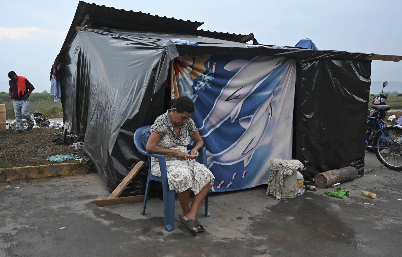 La vallée de San Pedro Sula, au Honduras, a déjà été durement frappée la semaine dernière par l'ouragan «Eta».