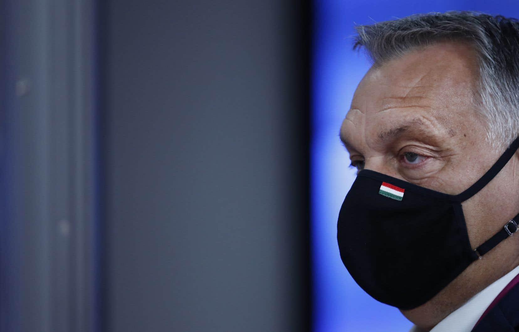 Le premier ministre de la Hongrie, Viktor Orban