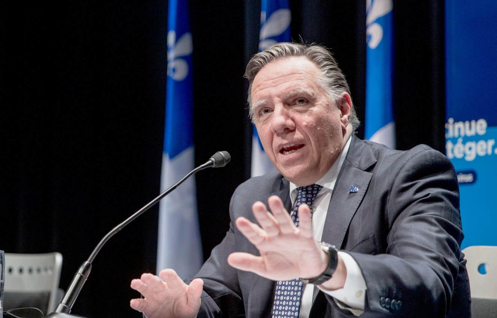 Le premier ministre François Legault