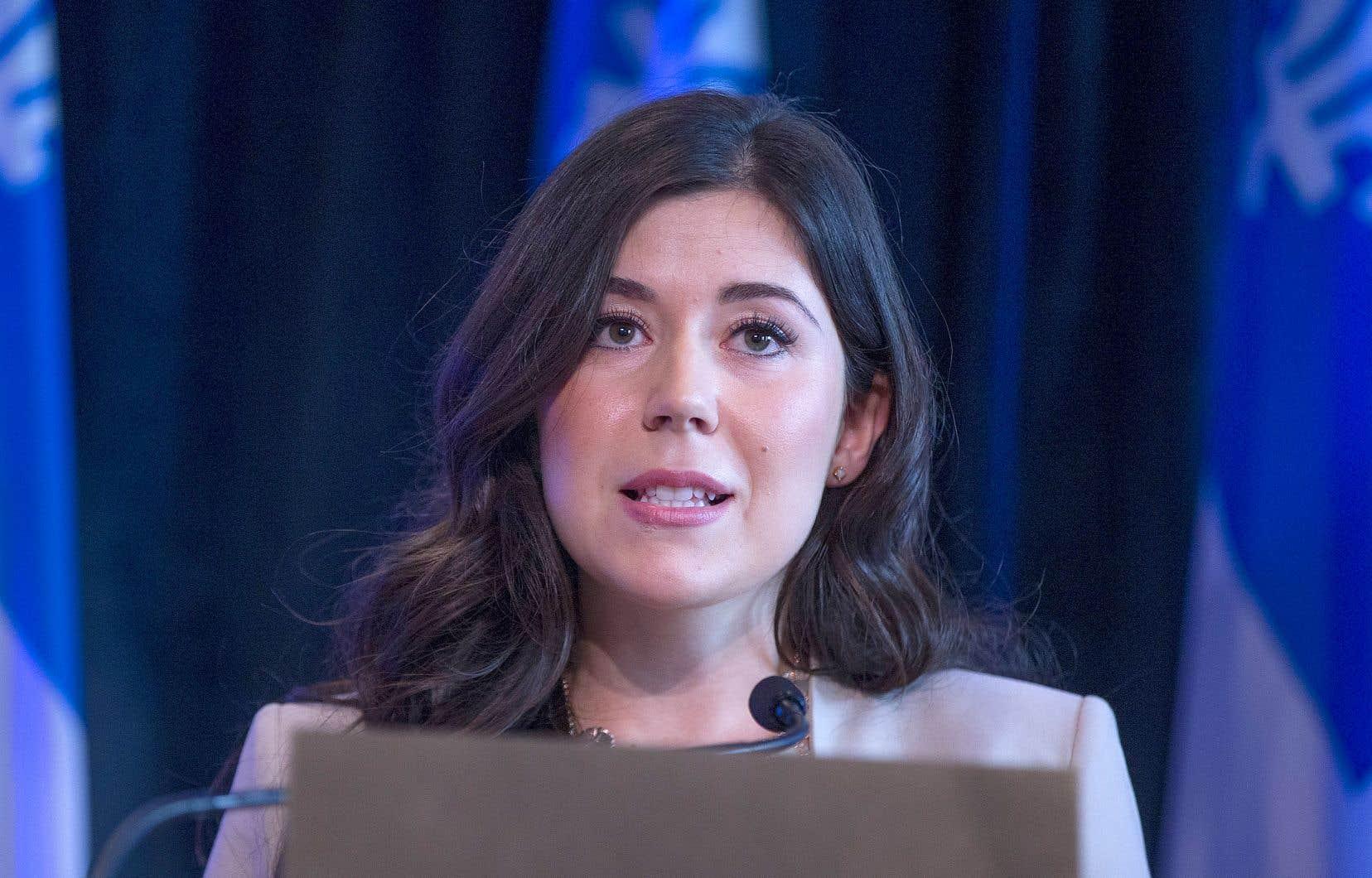 Quelque 20 mois après avoir claqué la porte du Parti québécois, Catherine Fournier dit ne pas regretter sa décision.