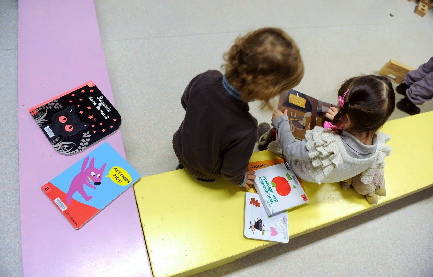 «Comme pour toute langue, l'enfant doit s'approprier l'écrit dans une démarche heuristique qui le plonge dans la langue et dans les livres de la littérature d'enfance», pense l'autrice.