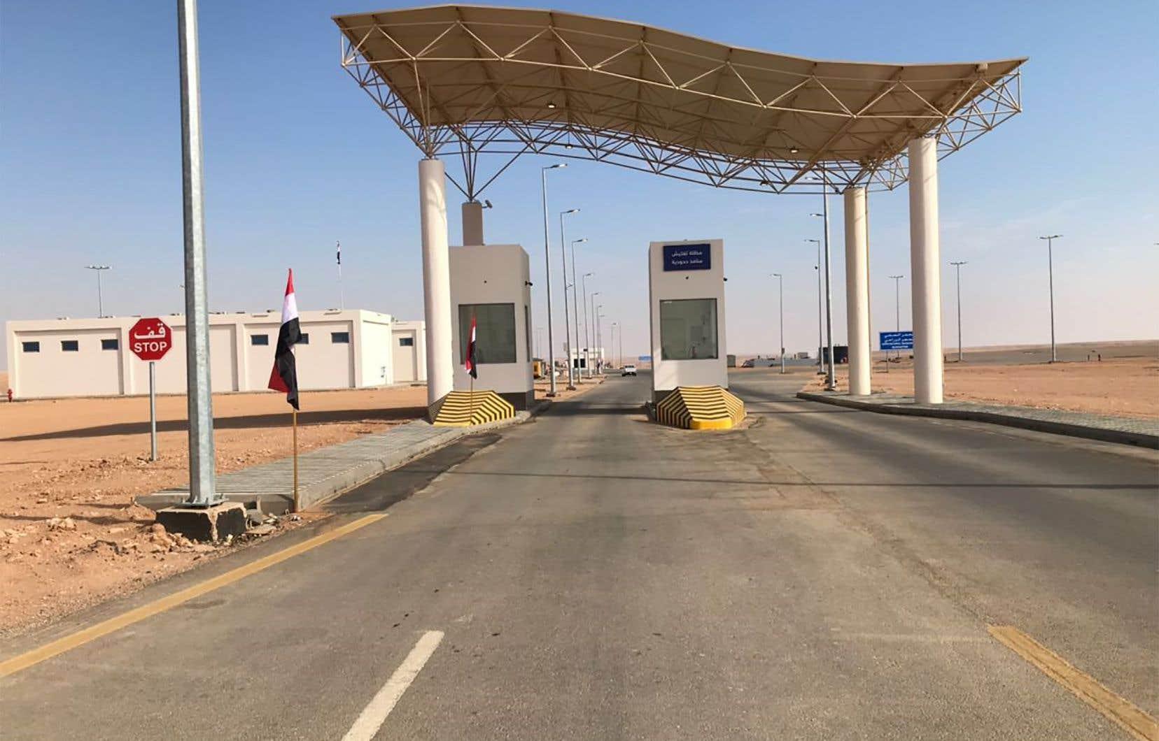 Le principal point d'accès à Arar est à nouveau accessible, témoignant d'un nouveau réchauffement entre Ryad et Bagdad.
