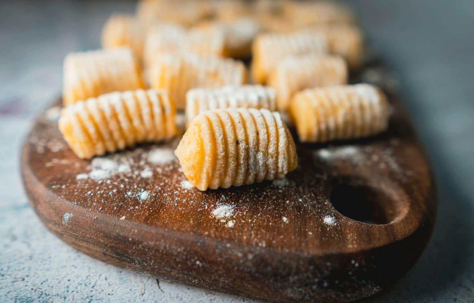 Des gnocchis à la carotte rôtie, à servir en entrée avant un plat léger ou en plat principal avec une viande braisée, par exemple