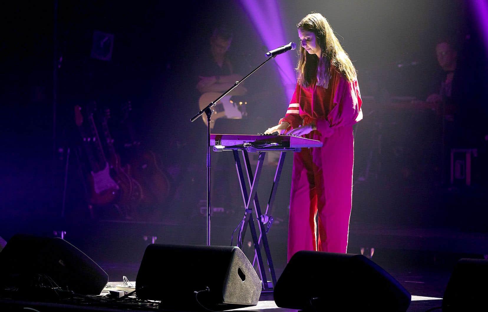 Laurence et les Polygones au Festival de la chanson de Granby en 2019