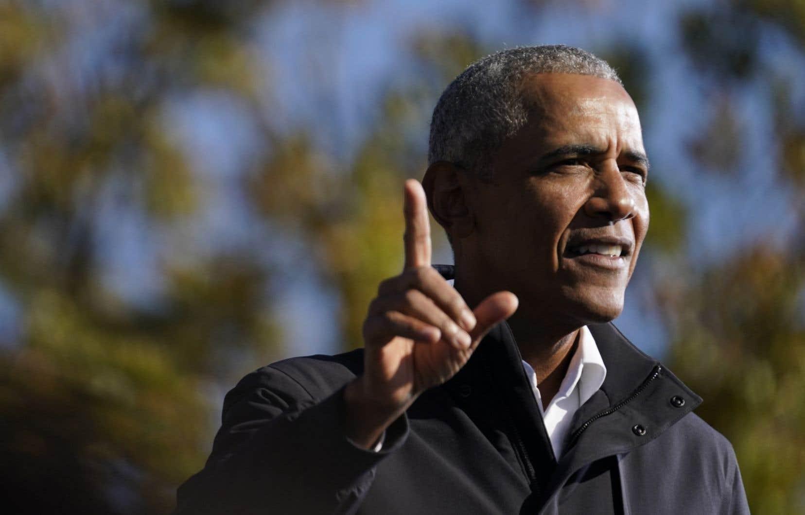 Barack Obama, 44ᵉ président des États-Unis de 2009 à 2017.