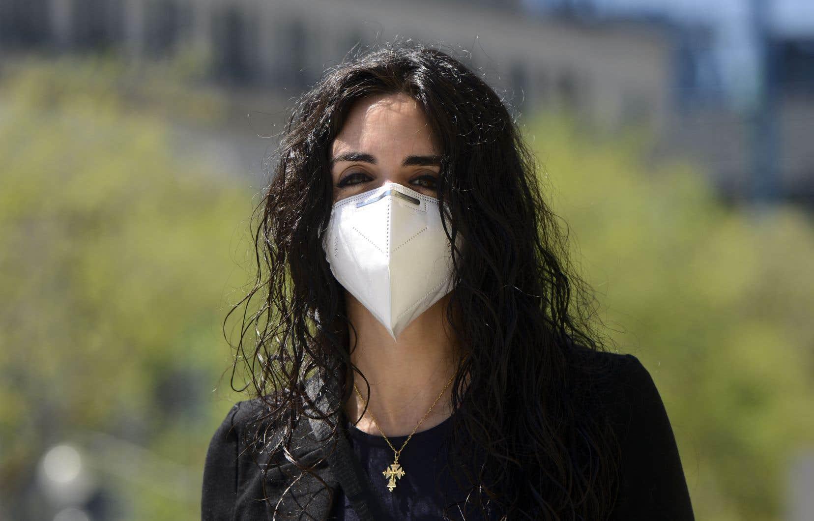 La députée libérale de la circonscription fédérale de Saint-Laurent, Emmanuella Lambropoulos
