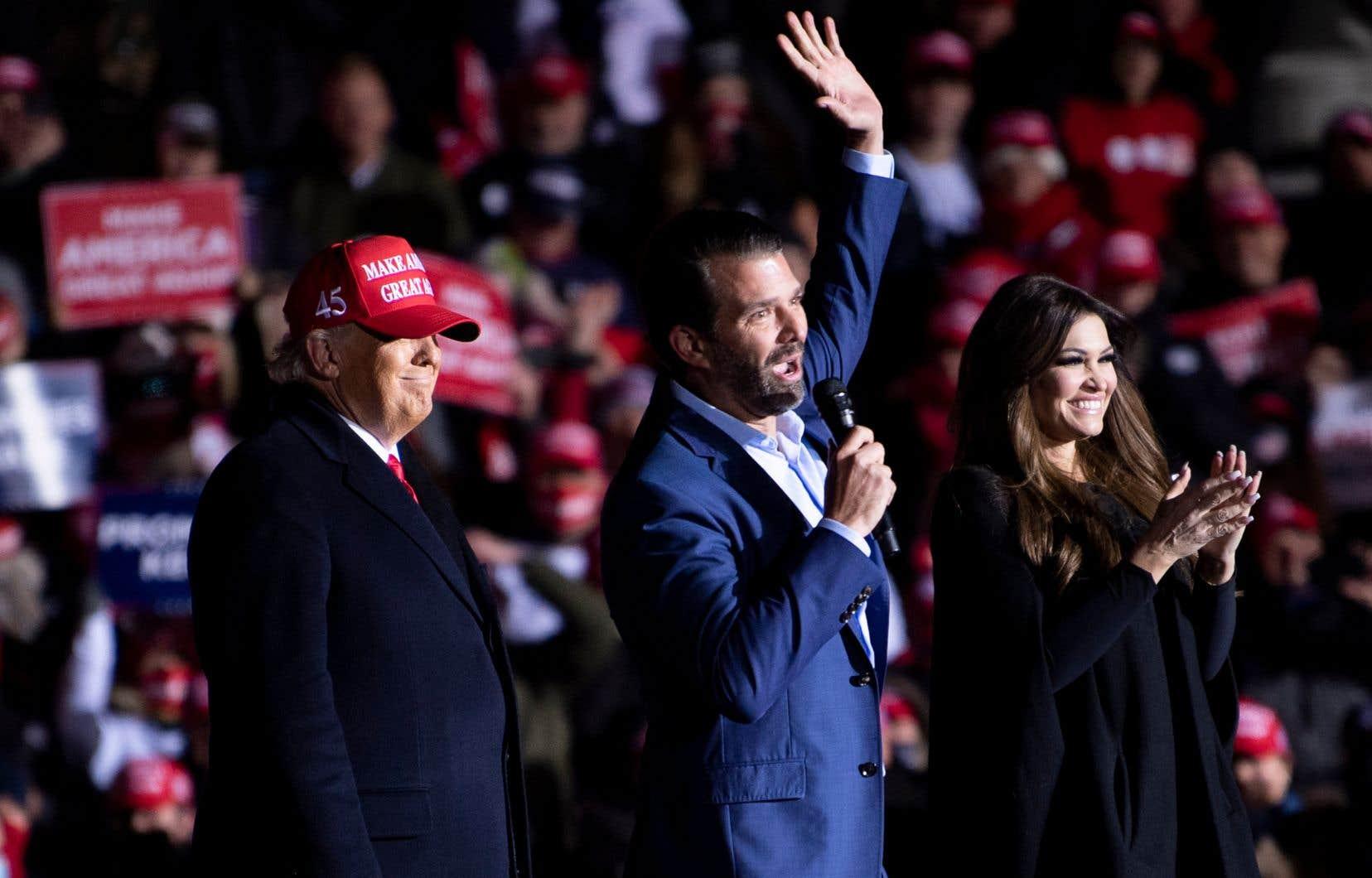 Donald Trump Jr. est le fils ainé du président américain sortant.