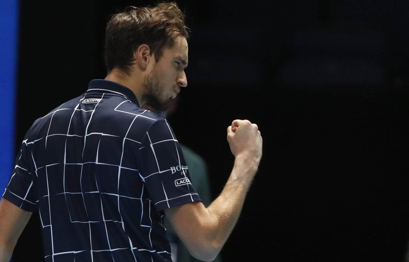À 24 ans, Daniil Medvedev est devenu le deuxième joueur russe à remporter ce tournoi.