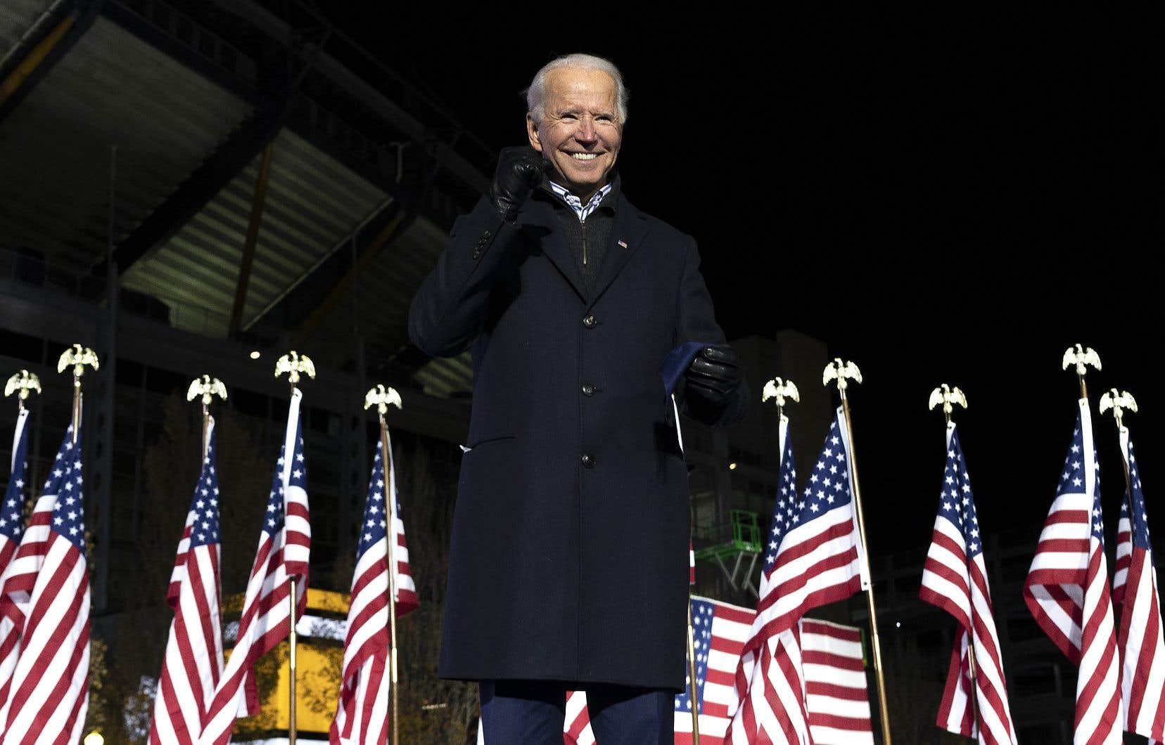 Le président désigné des États-Unis, Joe Biden