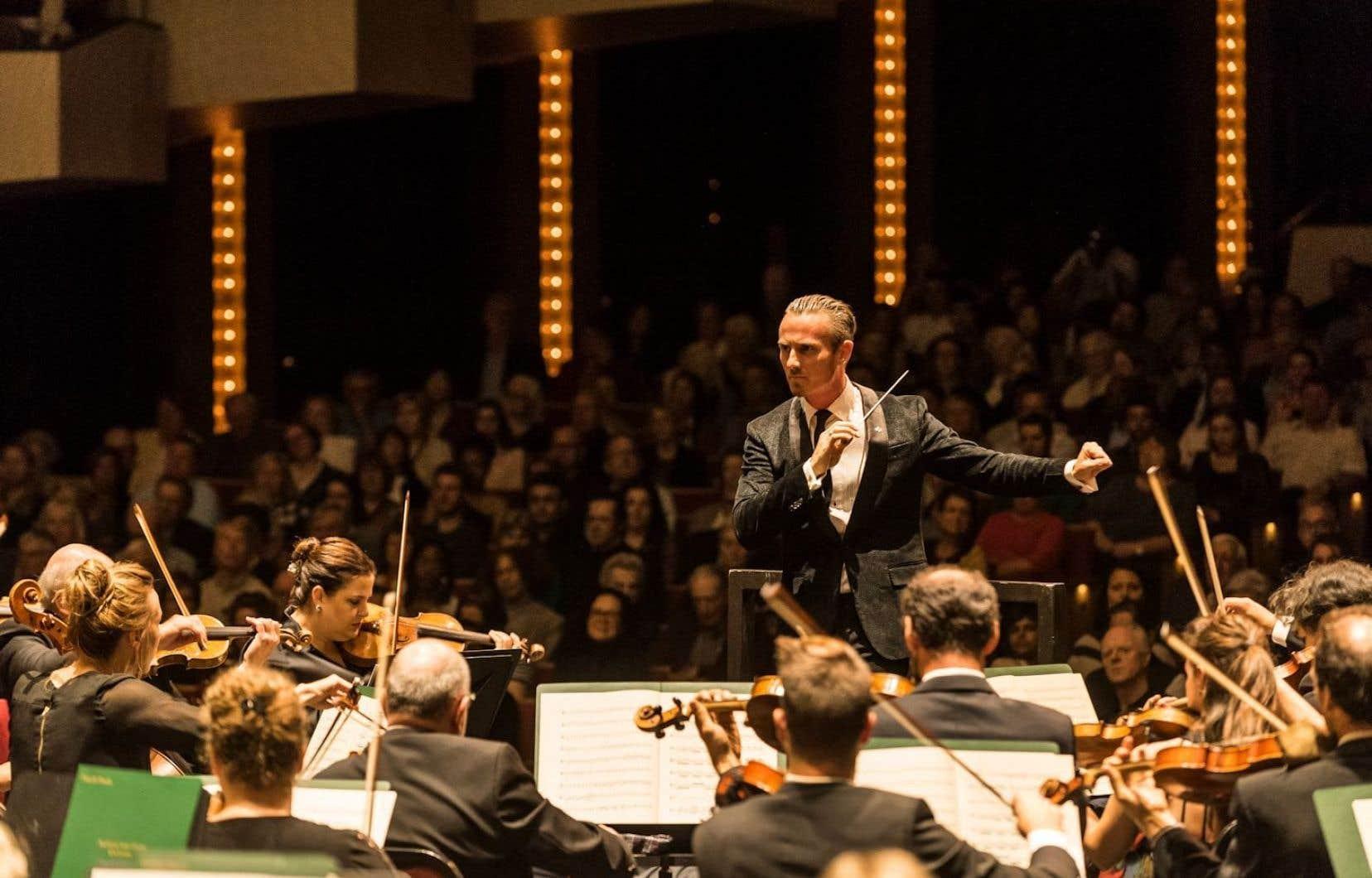 Alexander Shelley, directeur musical de l'Orchestre du Centre national des arts