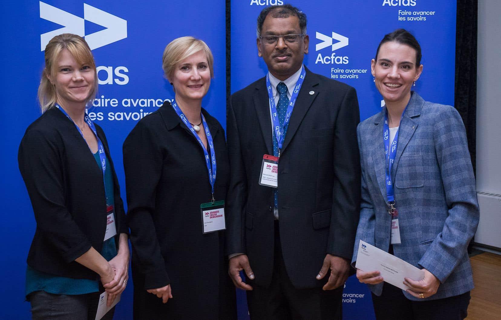 Depuis 2013, l'IRSST s'est associé à l'Association francophone pour le savoir (ACFAS) afin de créer les prix ACFAS-IRSST, attribués chaque année à deux étudiants à la maîtrise et au doctorat.