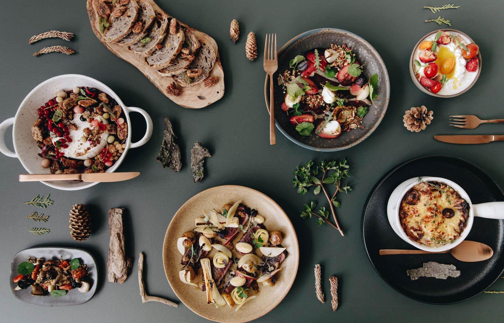 La saisonnalité des produits est primordiale dans la philosophie du chef Raphaël Podlasiewicz, qui, durant la saison froide, privilégie une cuisine réconfortante à partir des ingrédients qu'on a sous la main.