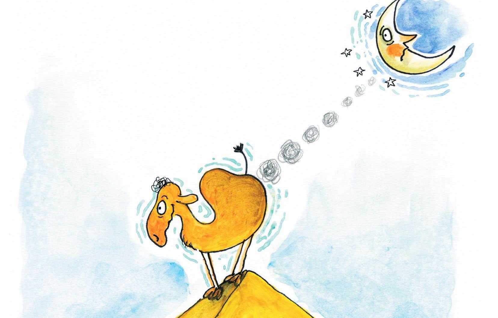 Détail de l'illustration tirée de l'«Abécédaire du pet» de Philippe Béha
