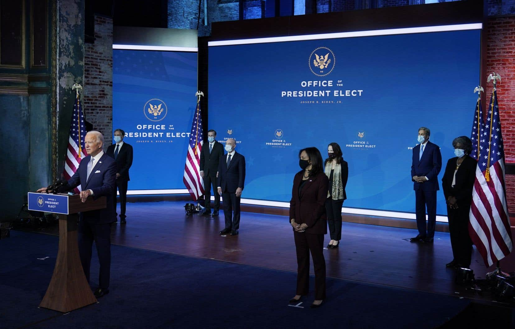 Le président américain désigné, Joe Biden, a présenté son cabinet cette semaine.