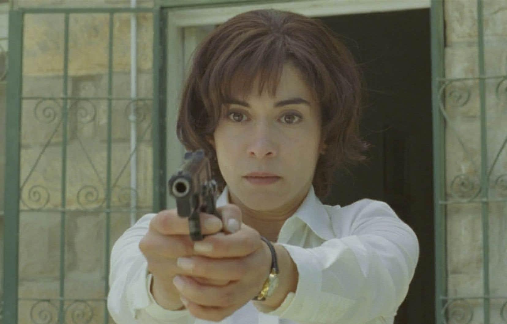 Lubna Azabal, si bouleversante dans le rôle de la mère dans Incendies, a remporté le Génie de la meilleure actrice.<br />