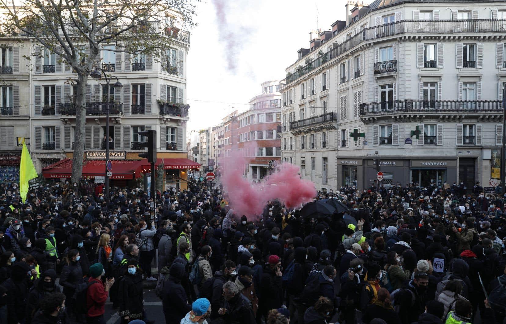 À Paris, ils étaient au moins 46000 manifestants.