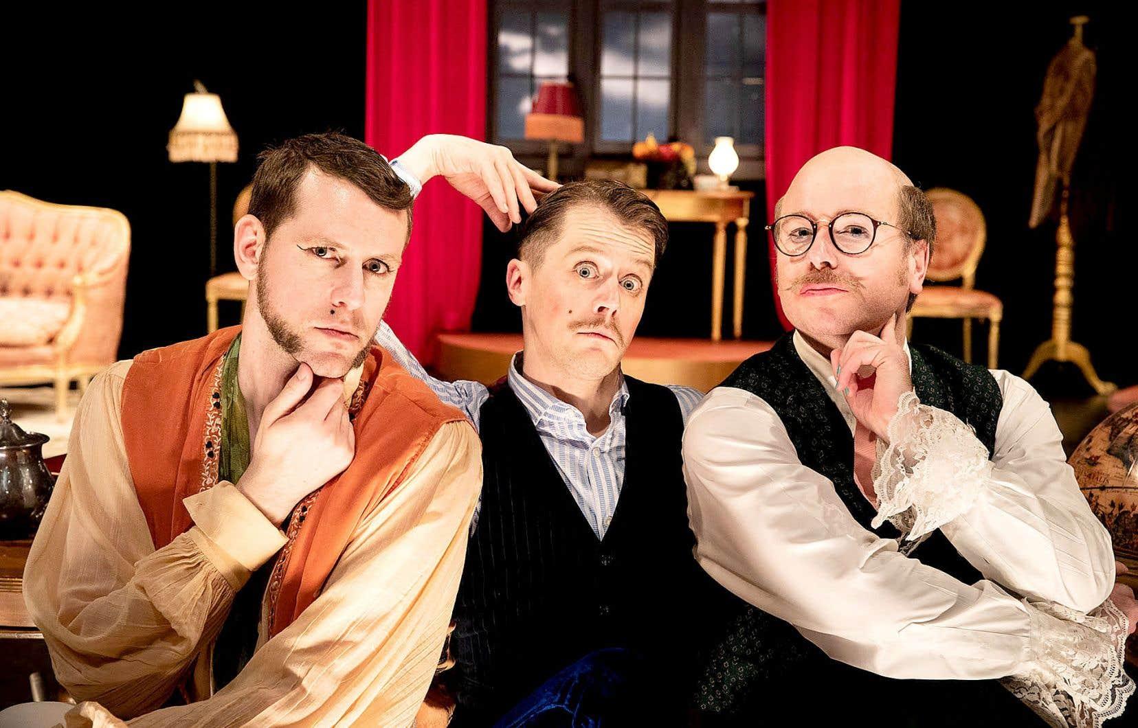 «La colère des doux», du Théâtre du Futur, sera présentée au Théâtre aux Écuries du 2 au 20février.