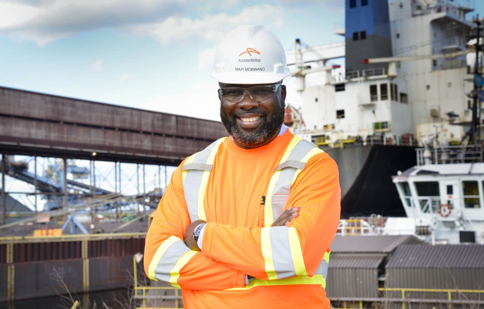 L'autre défi de Mapi Mobwano consiste à viser la carboneutralité pour 2050, une cible qu'Arcelor Mittal entrevoit pour toutes ses installations à travers le monde.