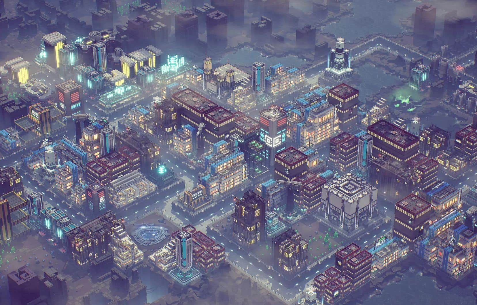 Dans «Industries of Titan», le joueur construit sur les vestiges d'une tentative ratée de colonisation de la plus grande lune de Saturne.