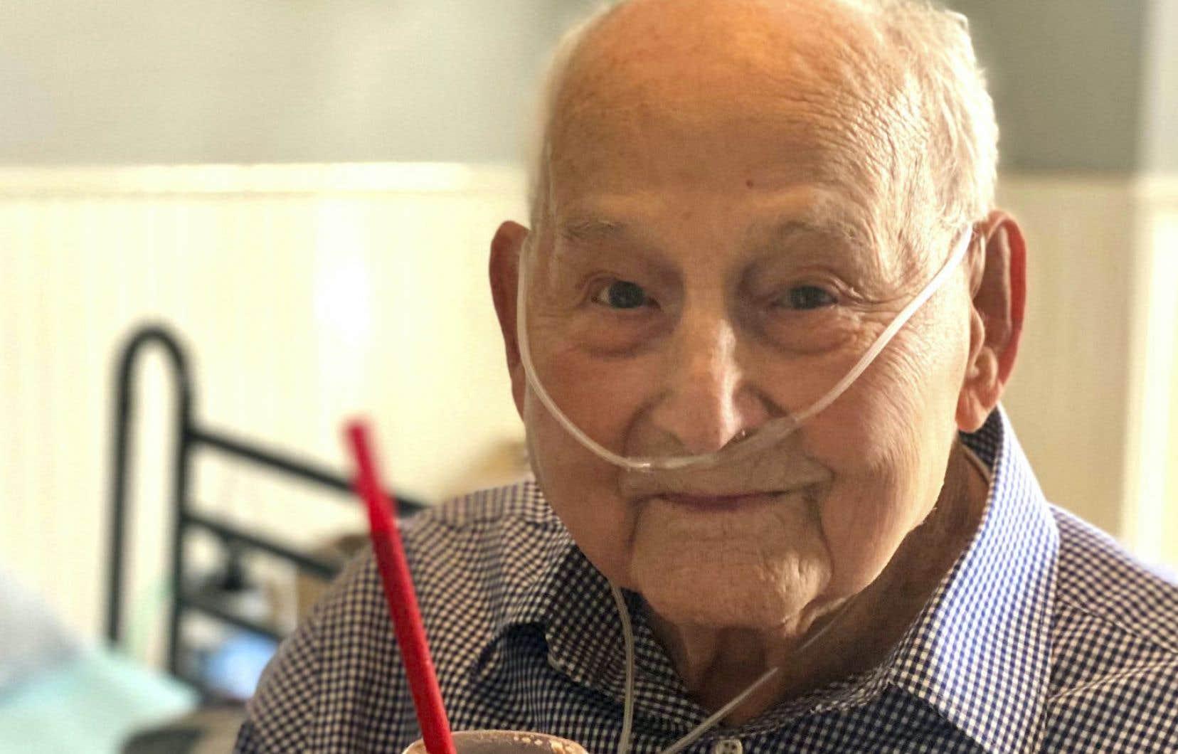 <p>Major Wooten, de Madison dans l'Alabama, a été admis à l'hôpital le 24novembre après avoir été infecté par le coronavirus.</p>