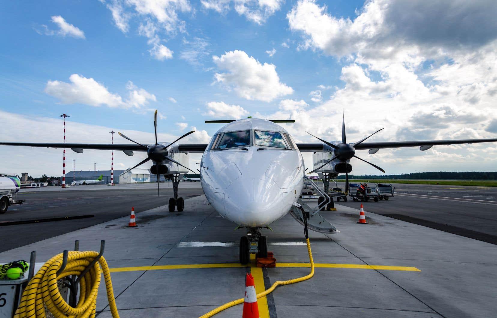 La coopérative prévoit utiliser des appareils Q400 pour son service.