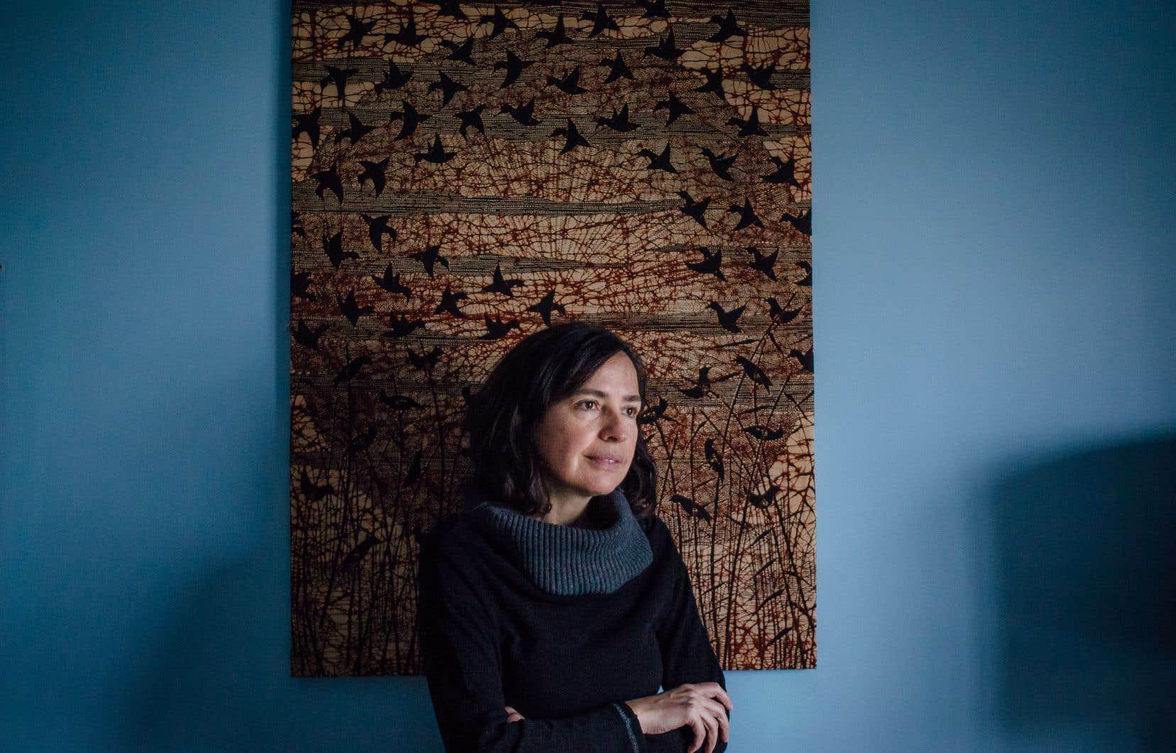 Jimena Terraza s'implique auprès de l'Institut autochtone Kiuna.