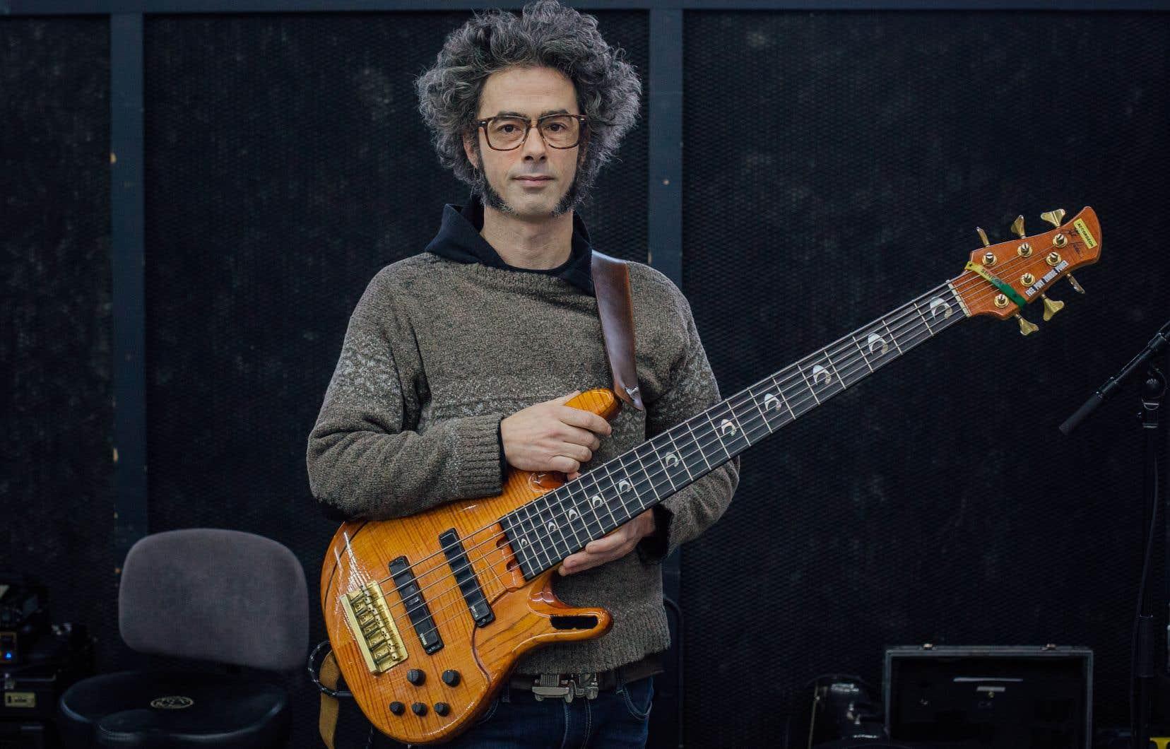 Simon Pagé, un musicien et ex-actuaire