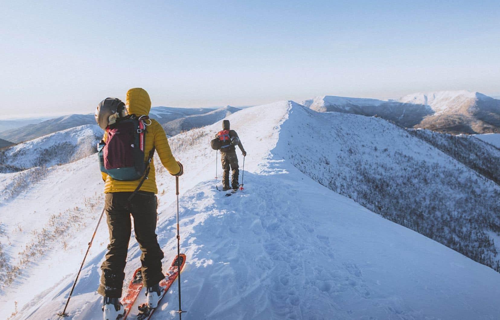 La réserve faunique des Chic-Chocs, en Gaspésie, considéré comme l'un des plus beaux milieux montagneux du Québec