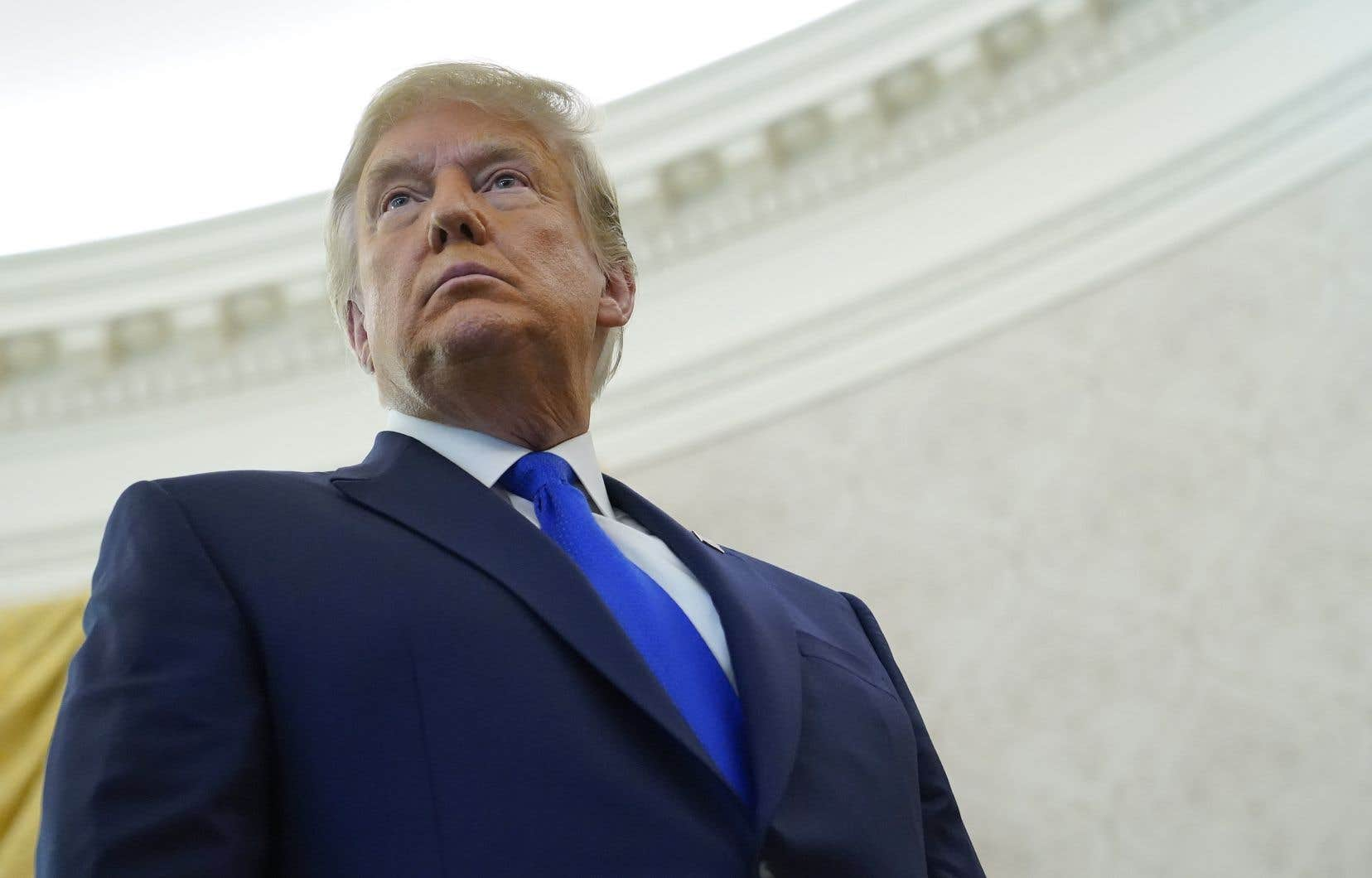 Cinq semaines après le scrutin, Donal Trump refuse toujours de concéder sa défaite face au démocrate Joe Biden et assure que l'élection lui a été «volée».