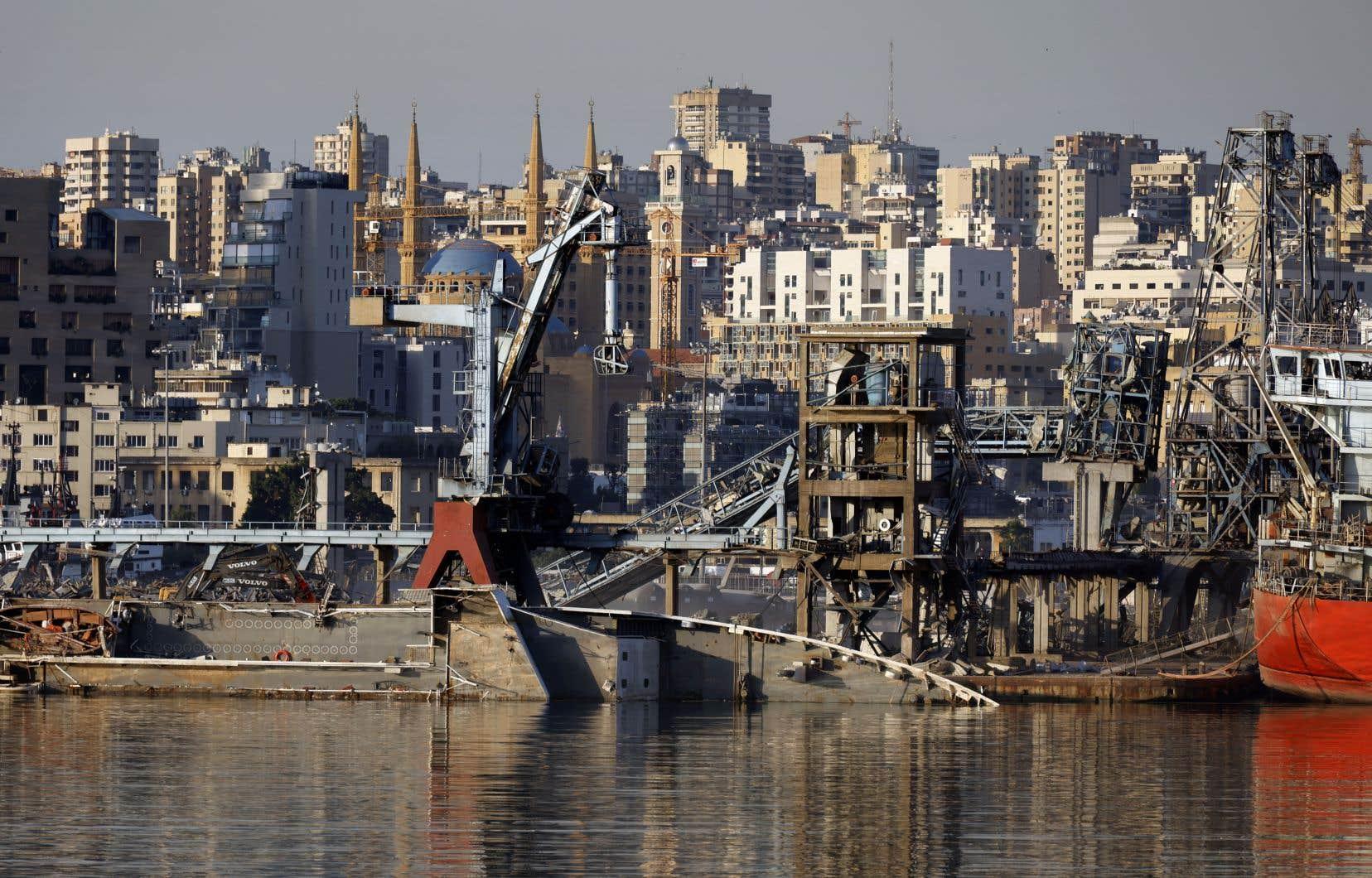 L'explosion du 4août a fait plus de 200 morts et 6500 blessés et détruit le port et des quartiers de la capitale.