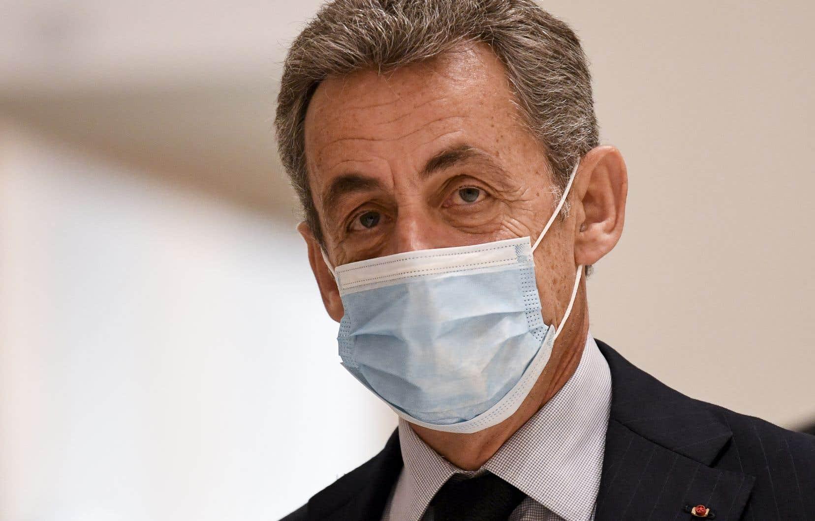 L'ancienprésident Nicolas Sarkozy