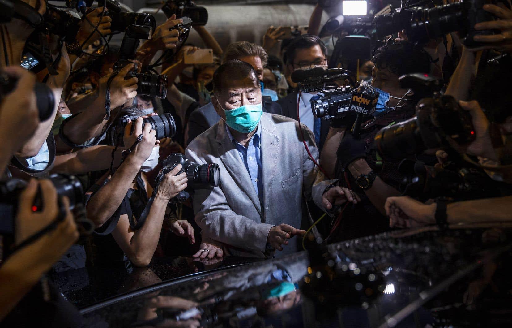 Rares sont les Hongkongais à s'attirer autant la haine de Pékin que Jimmy Lai, régulièrement qualifié de «traître» par les médias d'État chinois.