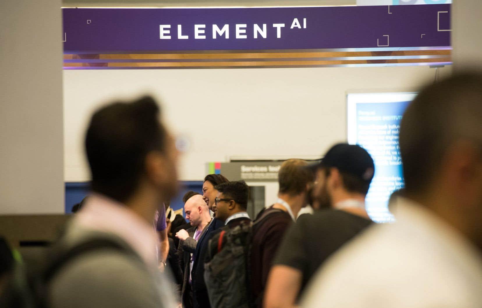 «Si Québec a décidé de ne pas engager les 200millions US$ qu'a déboursés ServiceNow pour Element AI, ce n'est pas parce que les moyens manquaient, mais bien parce que cette dernière n'a pas répondu aux attentes placées en elle», écrit l'auteur.