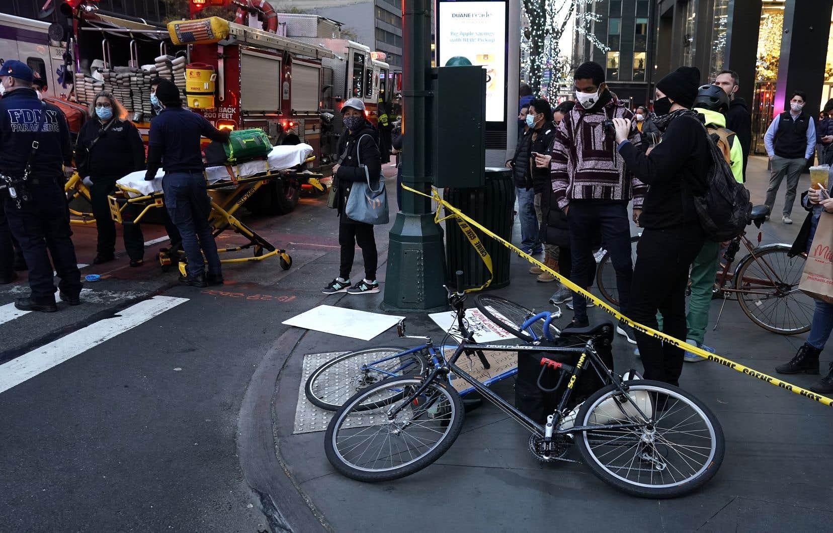«Les blessures ne semblent pas engager le pronostic vital» des victimes, a déclaré le porte-parole de la police.