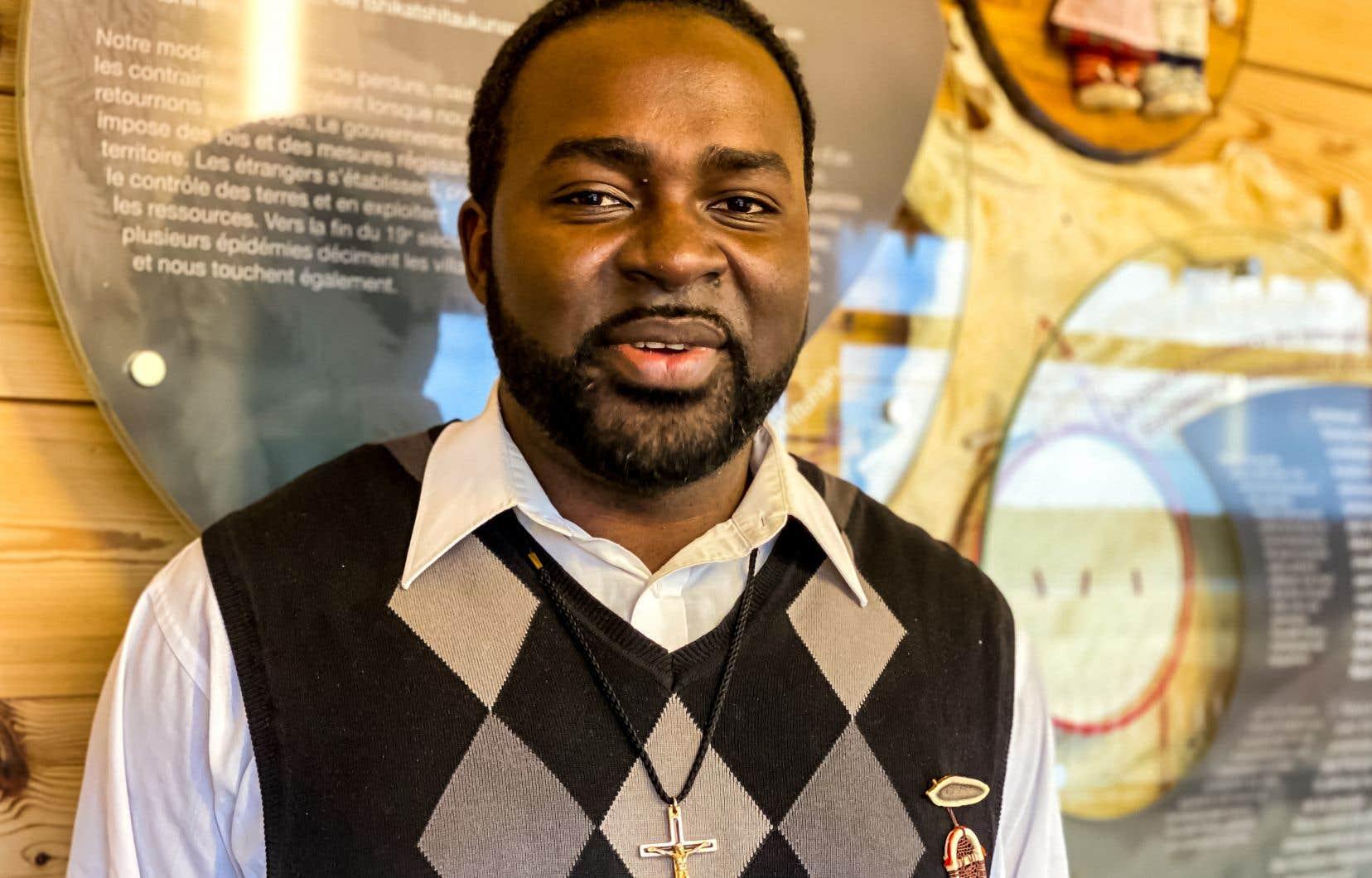 Ali Nnaemeka appartient à la congrégation des Missionnaires oblats de Marie-Immaculée, qui travaille auprès des communautés autochtones au Québec depuis 1844.