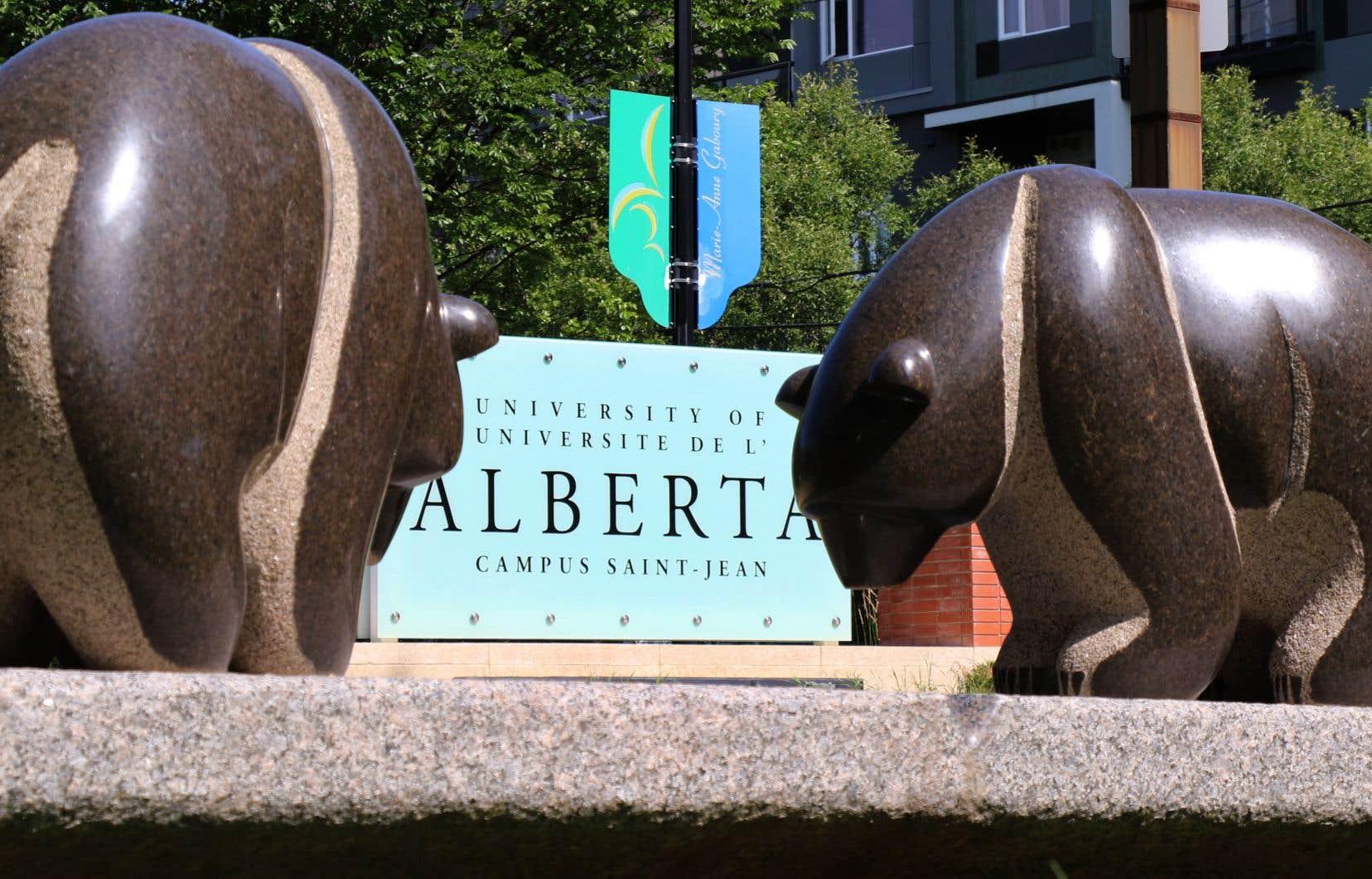 En dépit de la période d'austérité budgétaire qui touche le postsecondaire en Alberta, le Campus Saint-Jean a vu un rêve de longue date se réaliser.