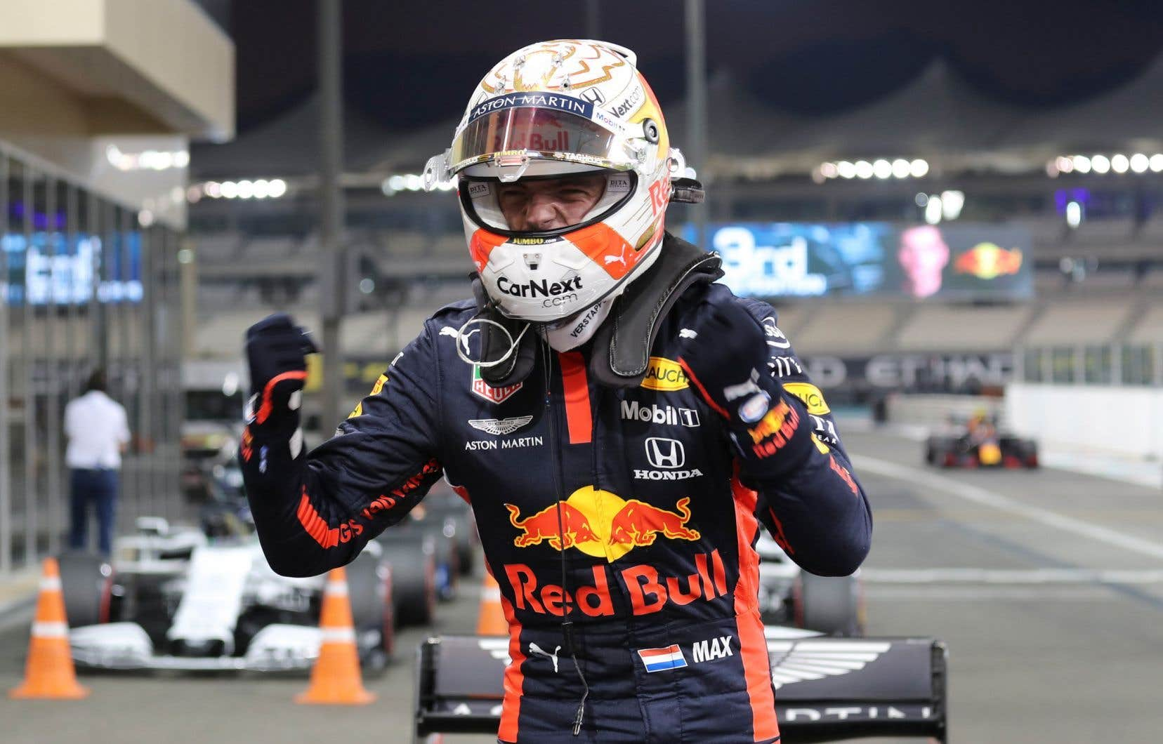 Le pilote Red Bull, Max Verstappen