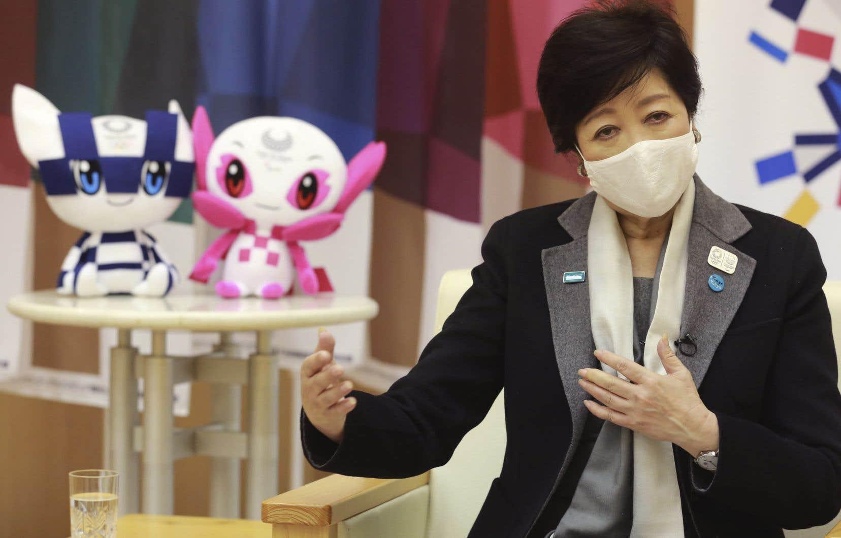 Tokyo fera «tout ce qu'il faut» pour réussir les jeux, qui ont été reportés d'un an à juillet prochain en raison de la pandémie, a déclaré Koike dans une entrevue à l'Associated Press.