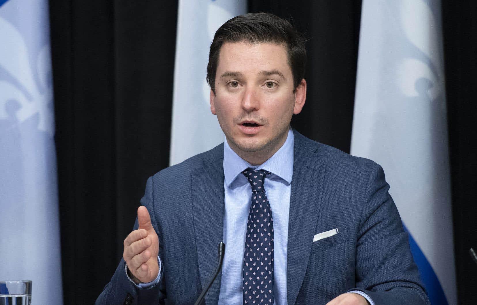 Il reviendra au ministre de la Justice, Simon Jolin-Barrette, de choisir le sort qui sera réservé au rapport.