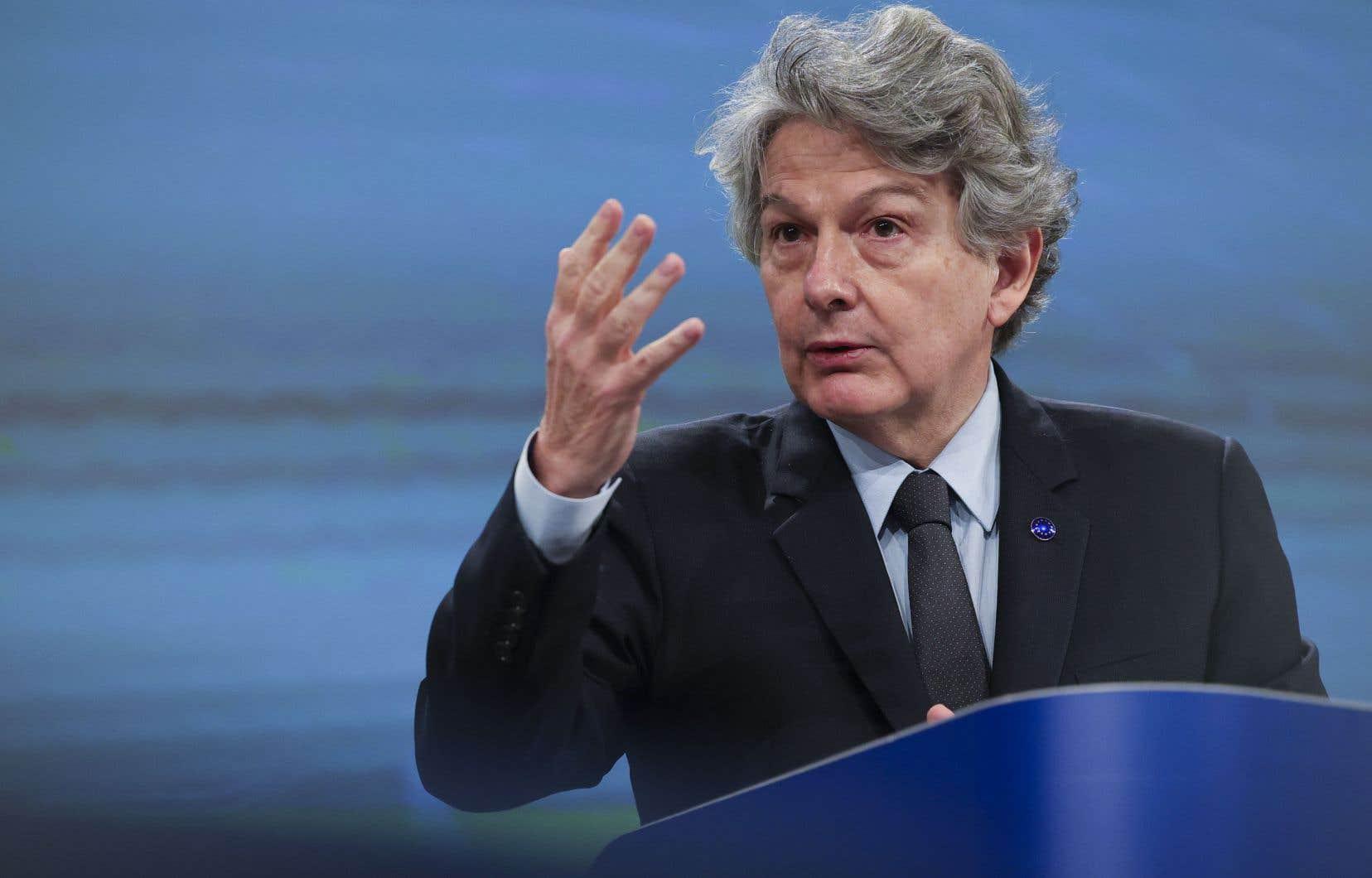 L'espace numérique doit profiter à toutes les entreprises, même les plus petites, a affirmé le commissaire au Marché intérieur, Thierry Breton.