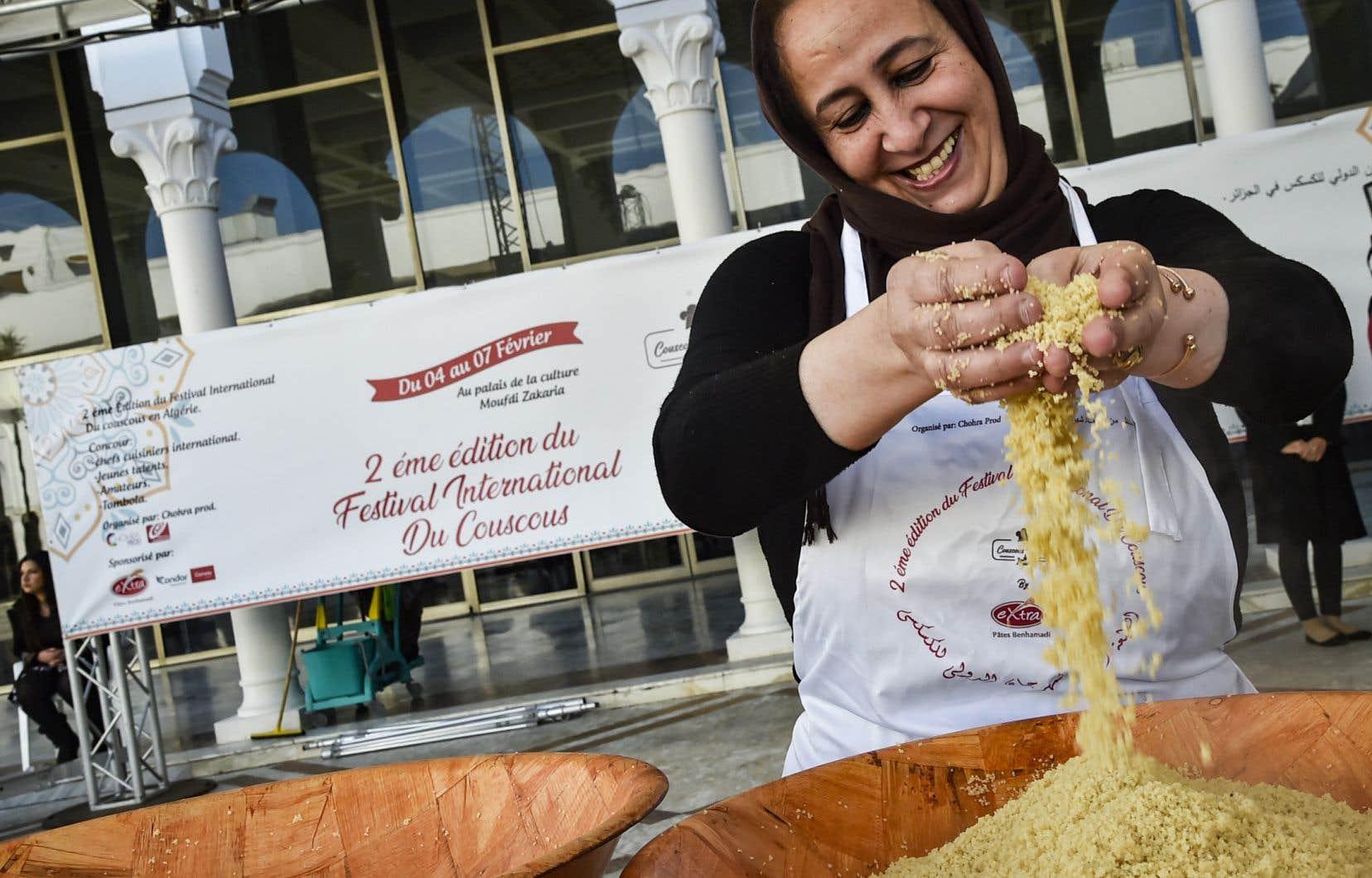 Les savoirs, savoir-faire et pratiques liés au couscous ont fait leur entrée mercredi sur la liste du patrimoine immatériel de l'humanité.