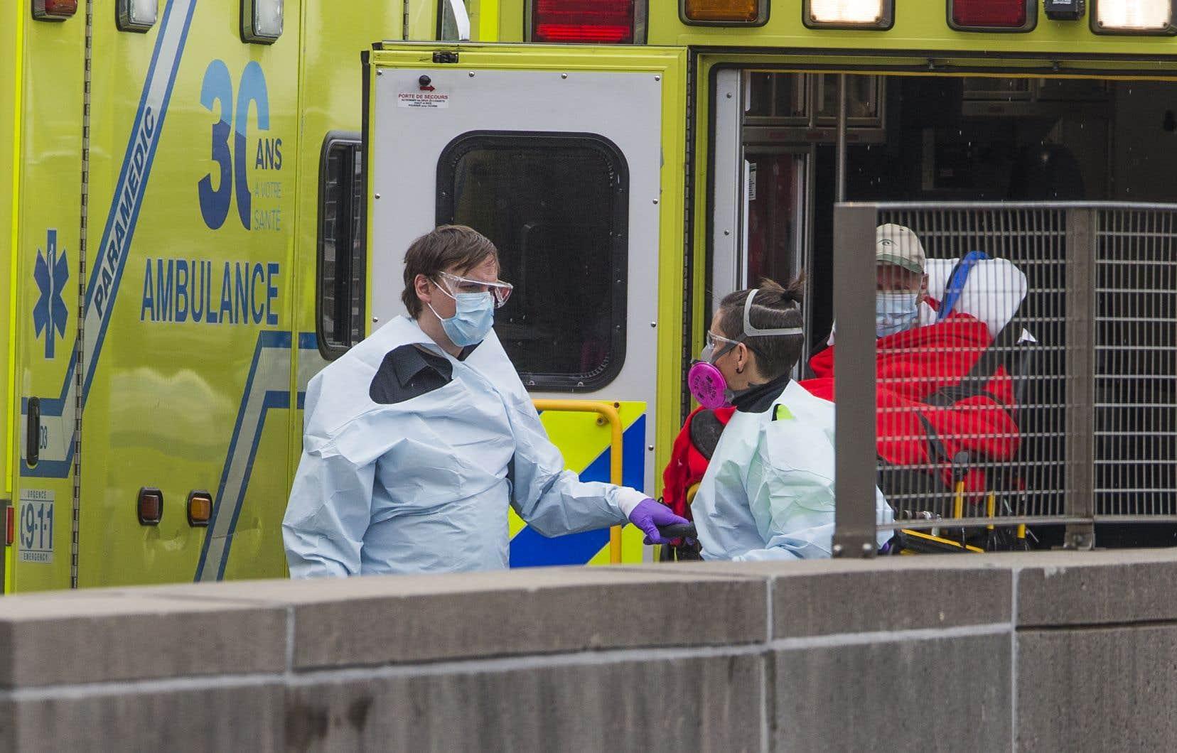 La région de Montréal a recensé plus de 4000 nouveaux cas au cours de la dernière semaine.