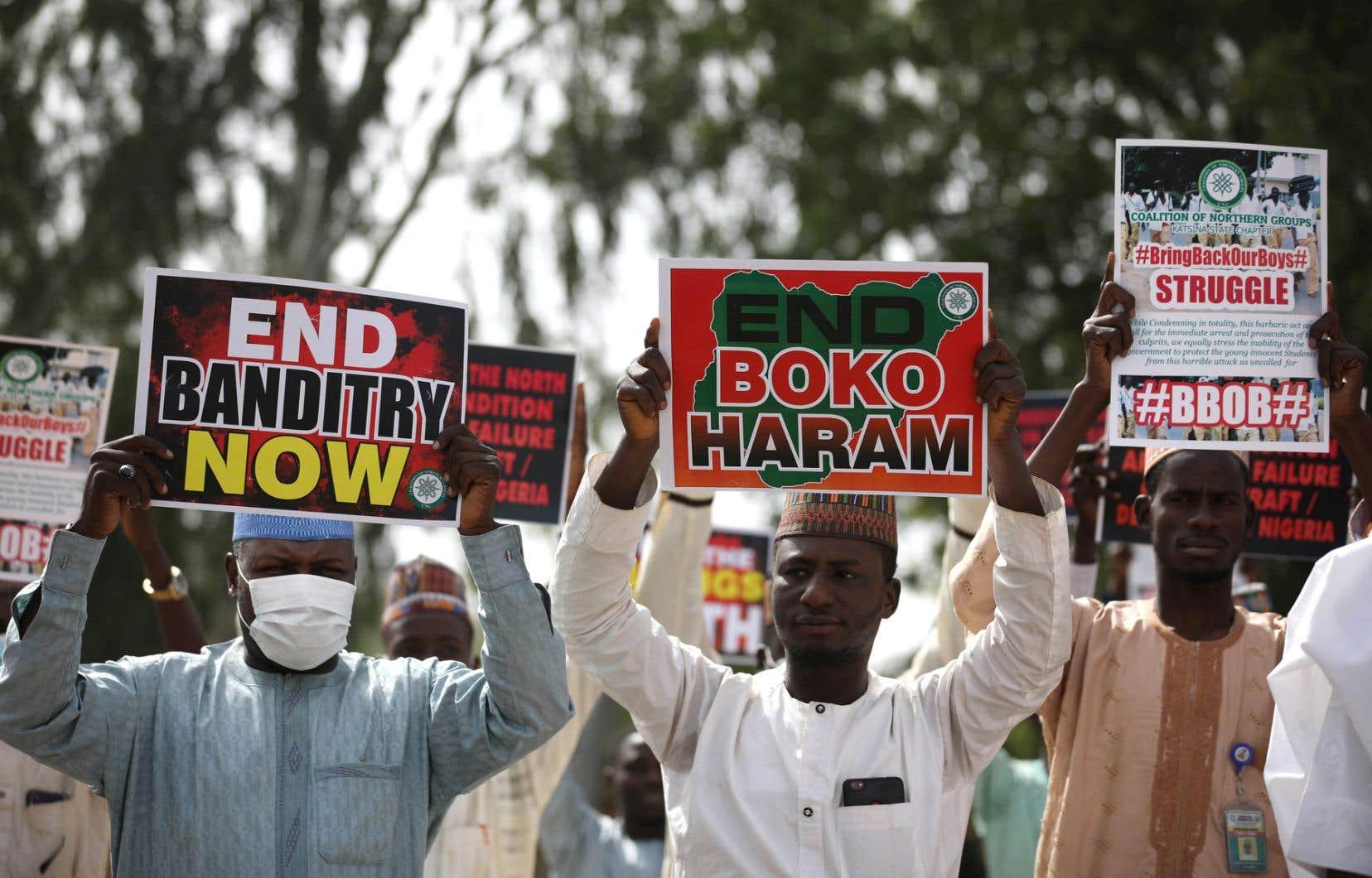 Boko Haram et sa branche dissidente, le groupe État islamique en Afrique de l'Ouest (Iswap), actifs dans le nord-est du Nigeria, ont fait plus de 36000 morts en dix ans de conflit et deux millions de personnes ne peuvent toujours pas regagner leur foyer.