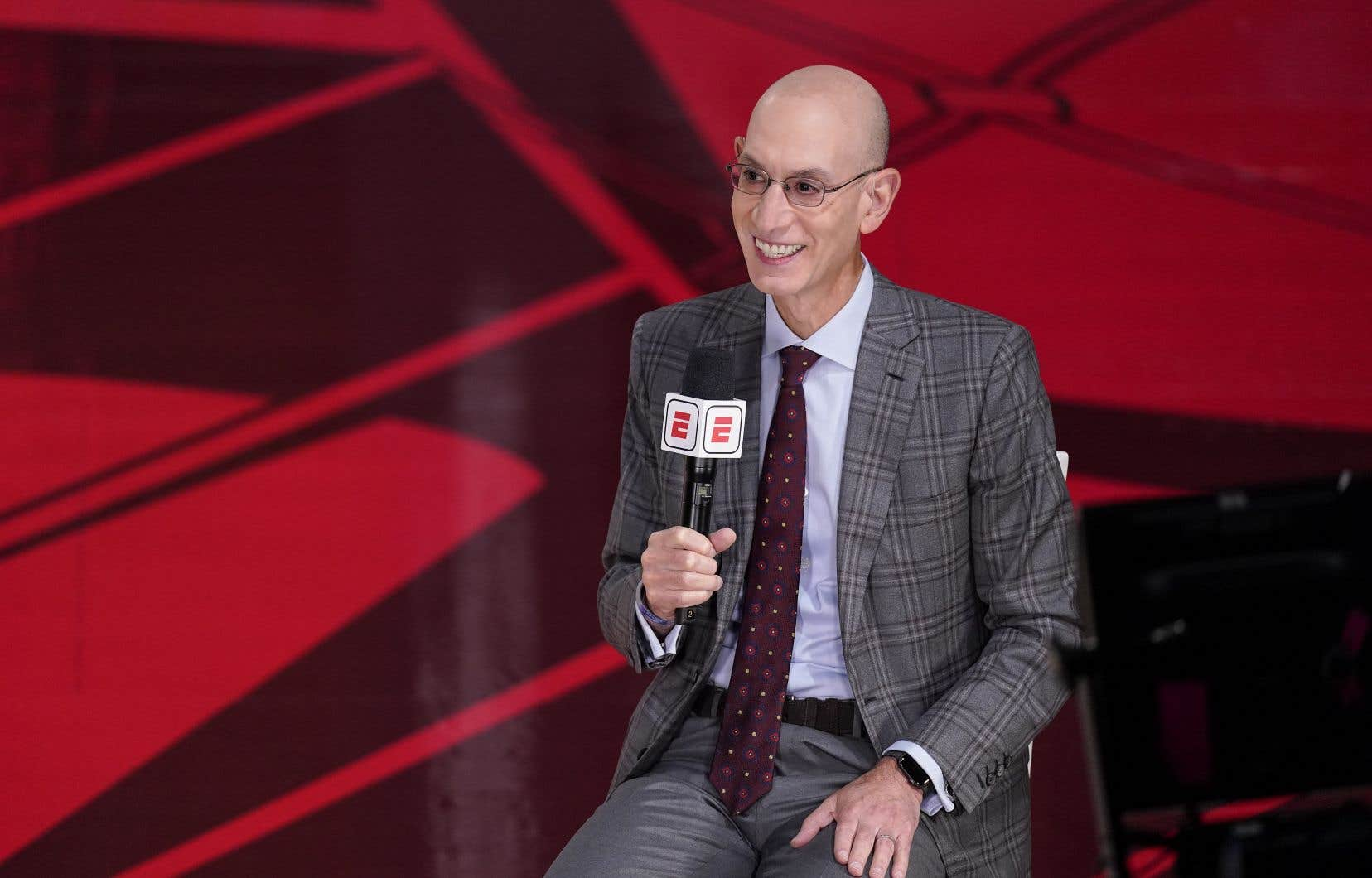Adam Silver se dit optimiste au sujet de la saison 2020-21, en dépit de la pandémie de coronavirus.
