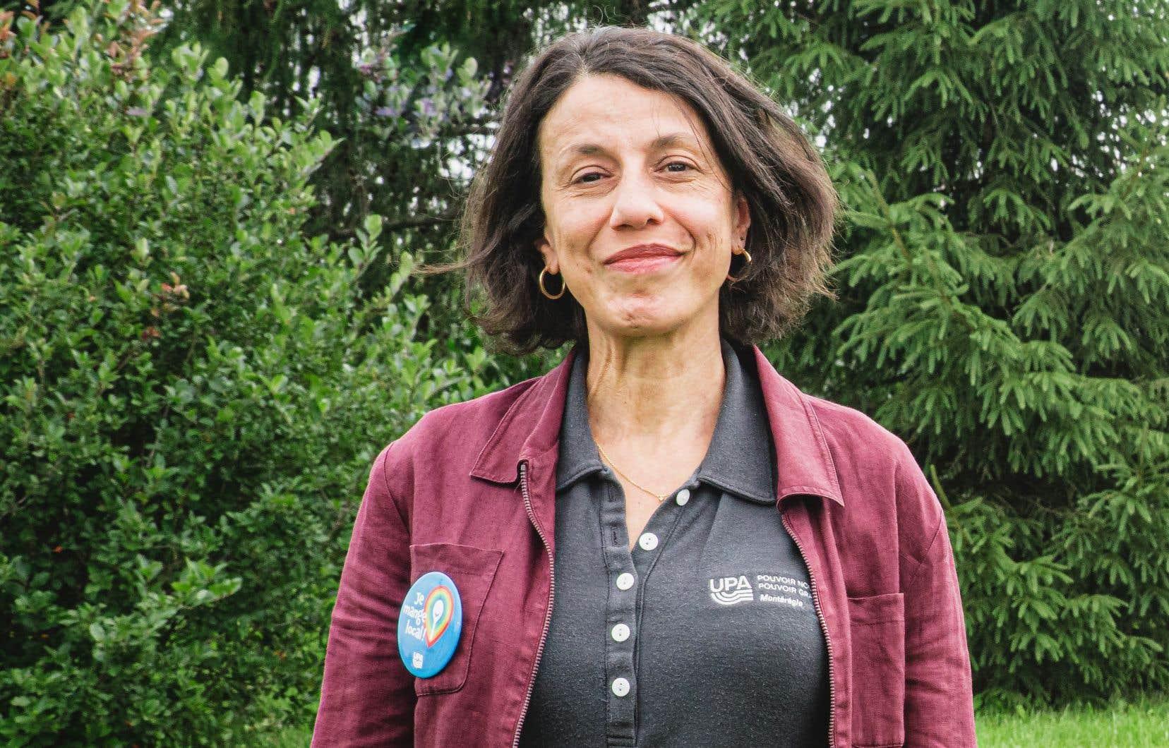 L'agronome Yasmina Larbi-Youcef coordonne un programme unique au Québec, qui «dédommage les producteurs produisant des biens et services écosystémiques».