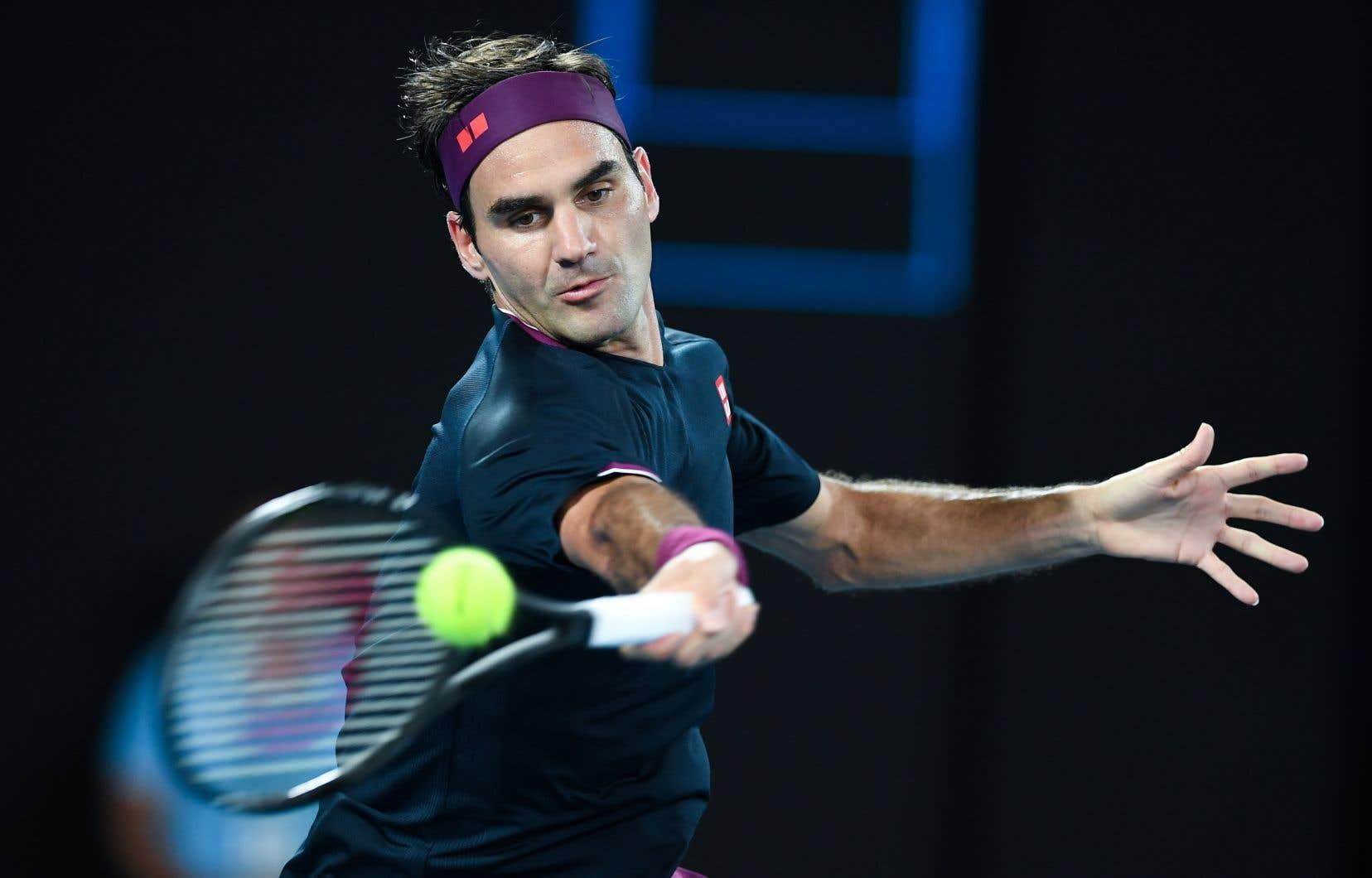 Roger Federer n'a pris part à aucun match de tournoi depuis la fin du mois de janvier, aux Internationaux d'Australie.