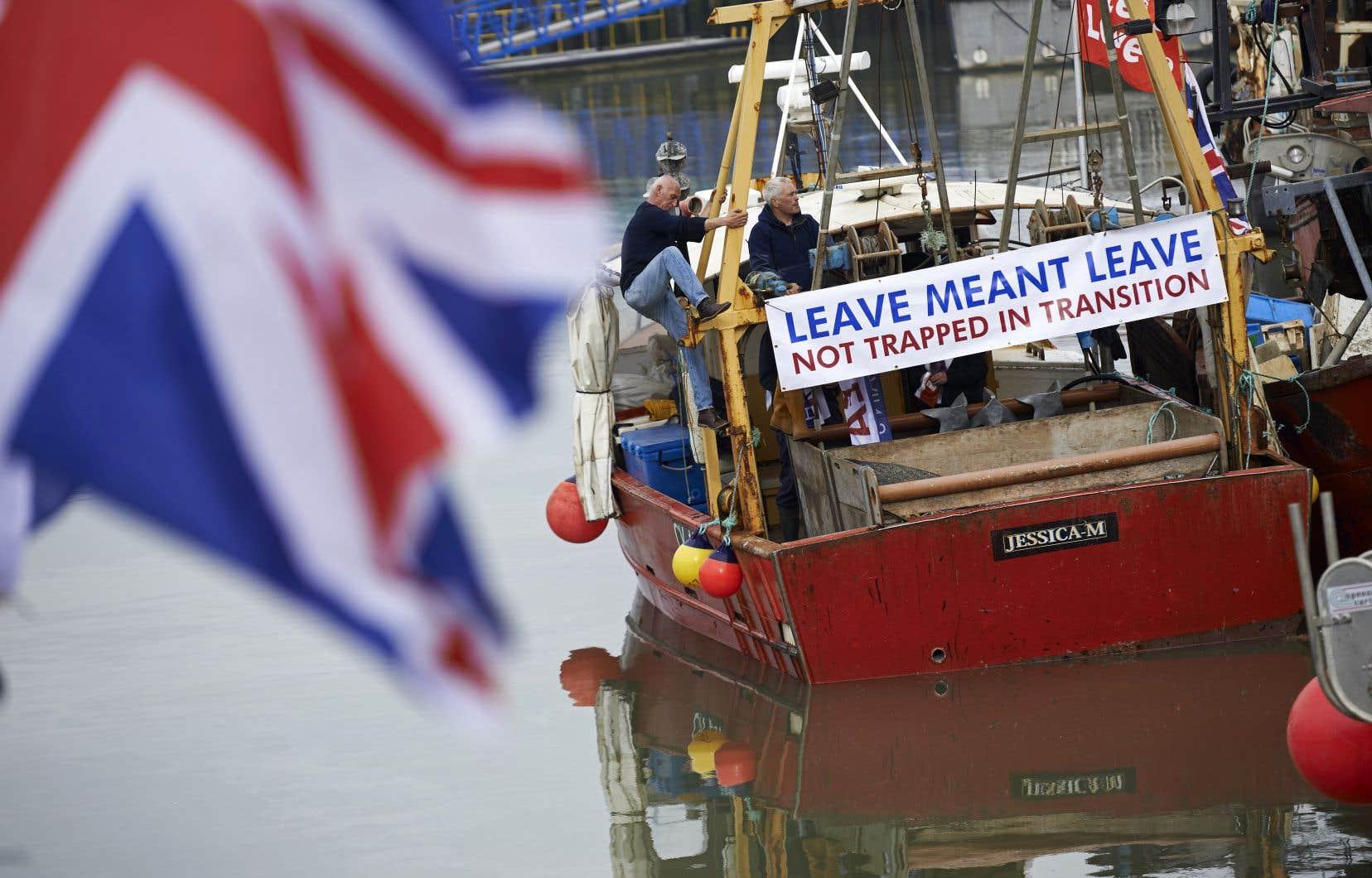 La période de transition, en cours depuis la sortie du Royaume-Uni de l'UE en janvier 2020, se termine fin décembre avec la sortie des Britanniques du marché unique.