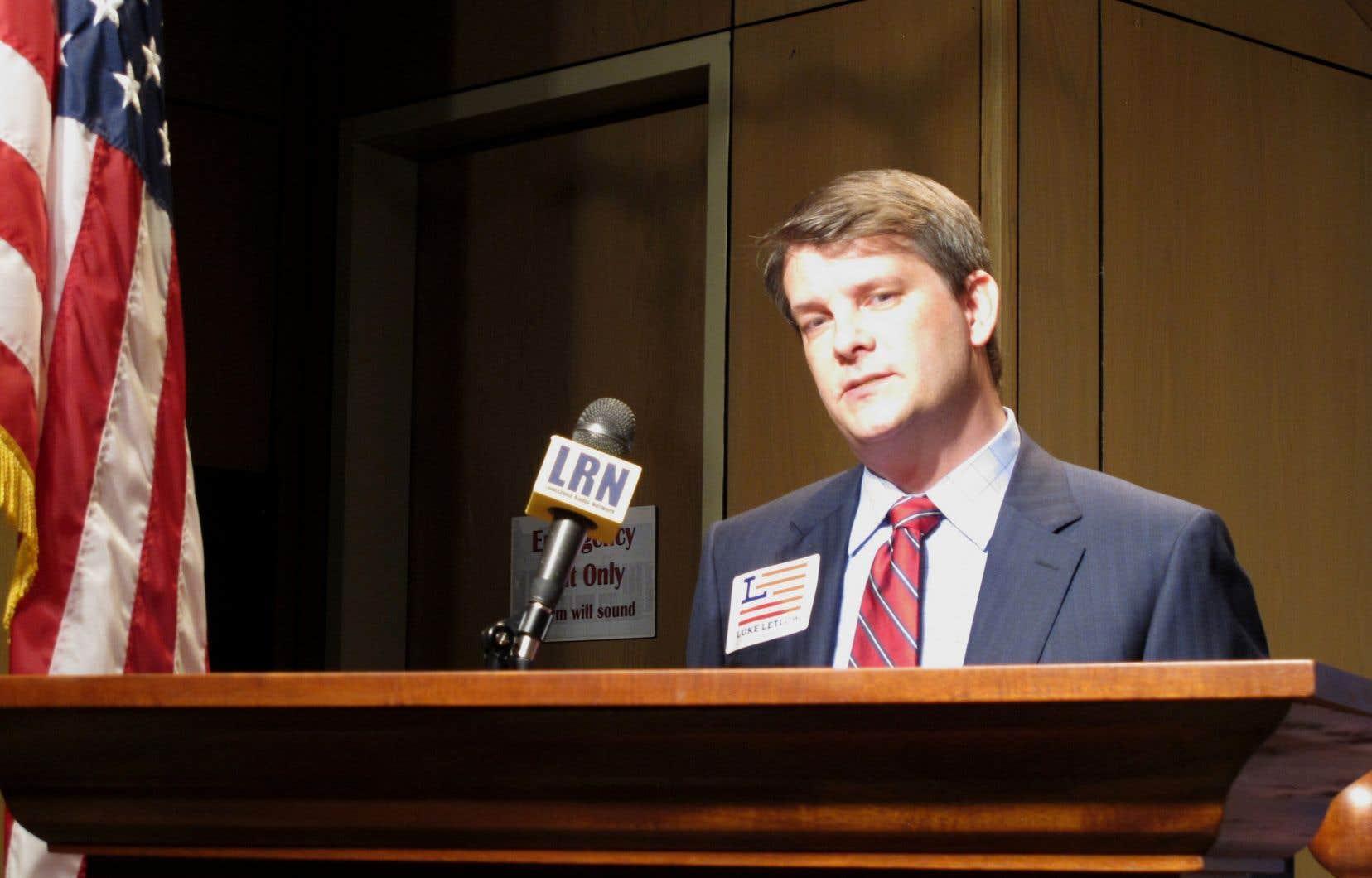 Le républicain Luke Letlow, âgé de 41 ans, avait été élu dans le 5e district de la Louisiane.